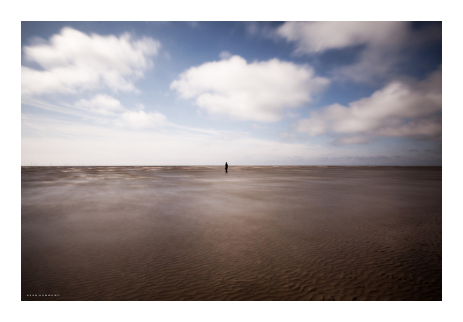 Isolation, Crosby Beach UK, photographer
