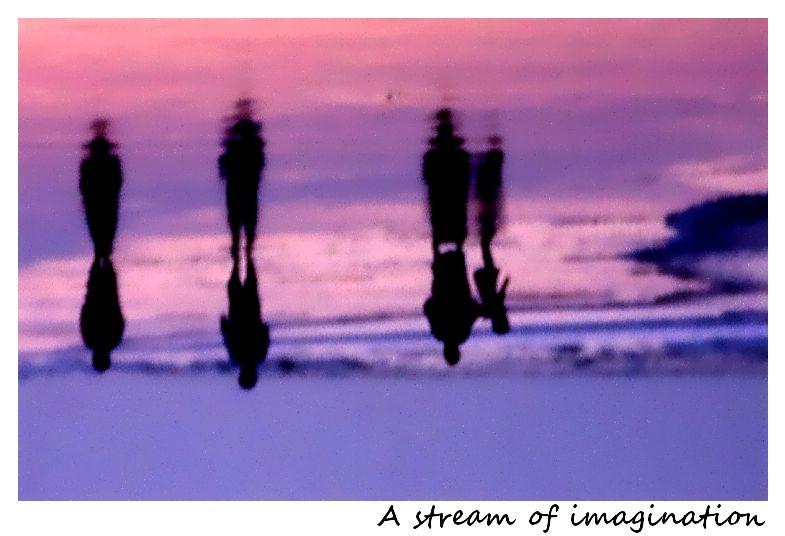 A stream of imagination