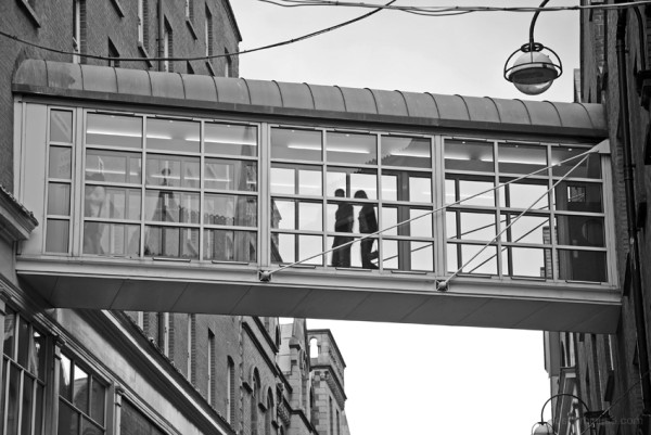 A Walk Between Buildings