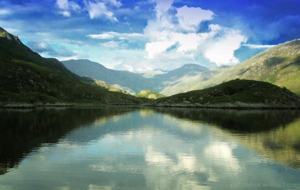 High Summer in The Loch