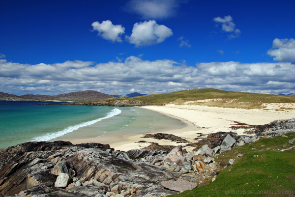 Clear Water & White Sands. . it must be Scotland