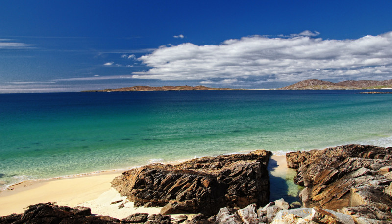 Scotland's tropical islands