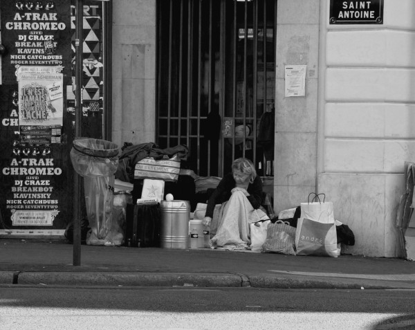 The Patron Saint of Street People?