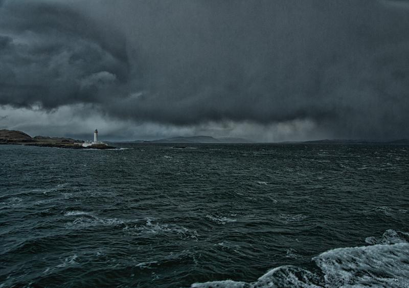 The Eilean Musdile lighthouse