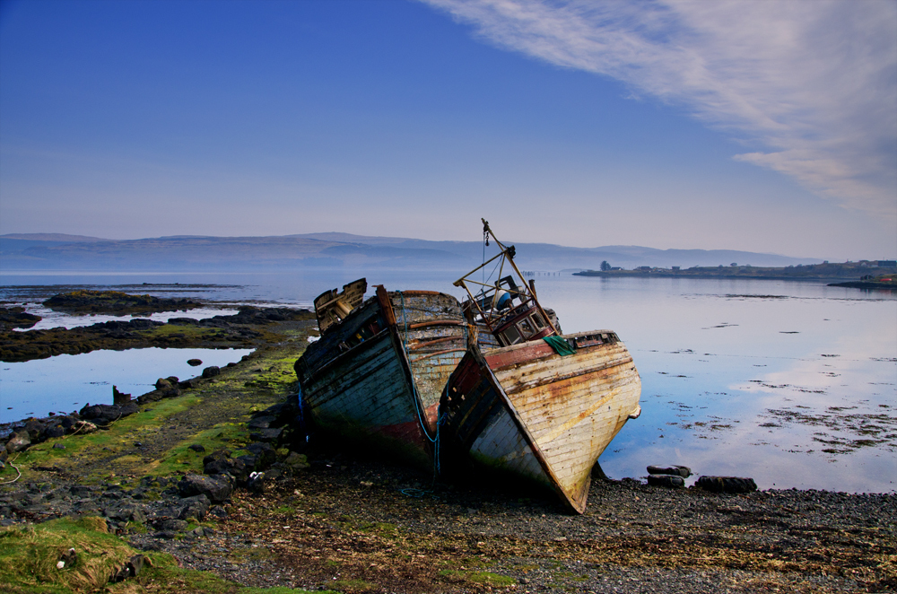The most photographed fishing boats in Britain