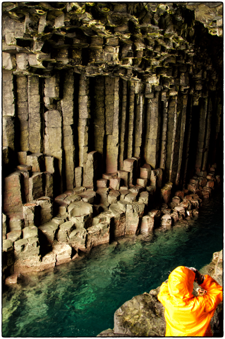 Inside Fingals Cave