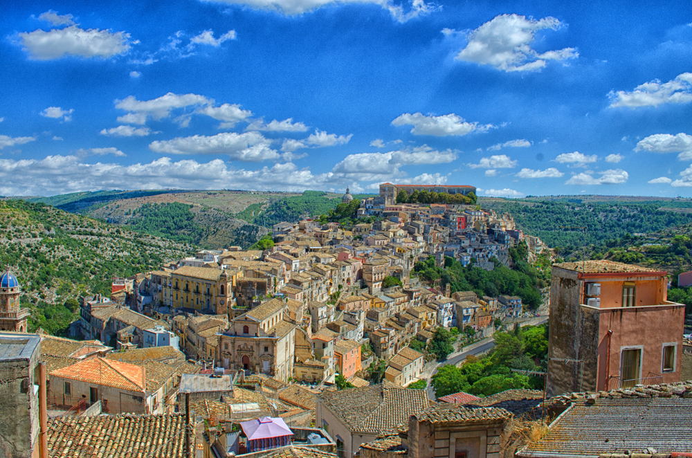 Ragusa Ibla from Ragusa