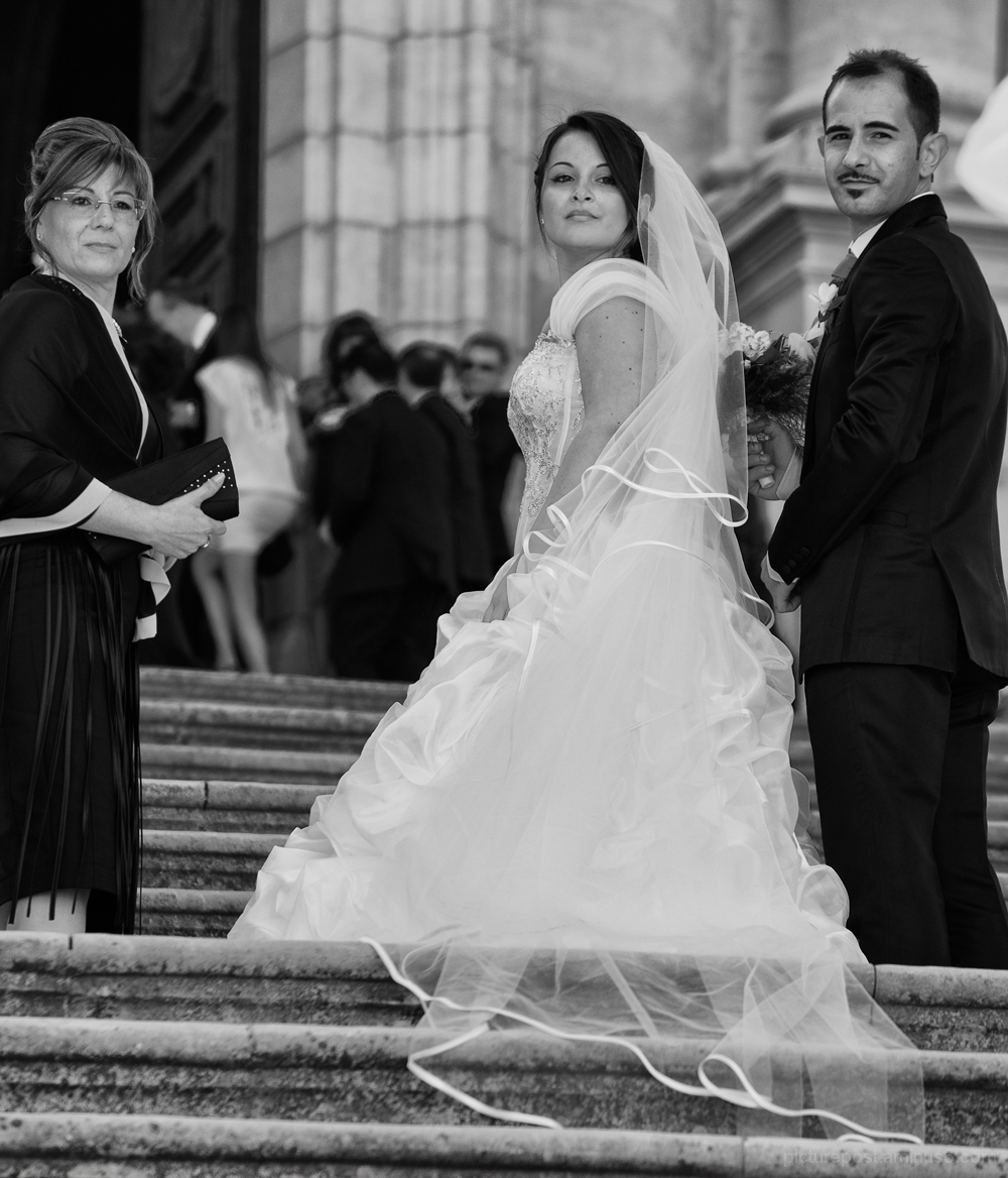 A very grand wedding