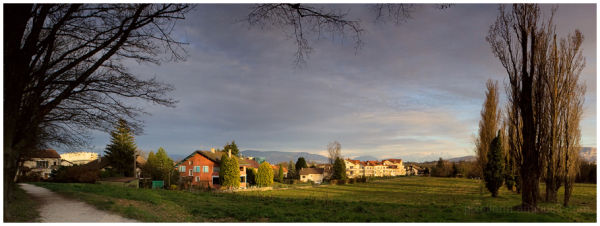 Panorama: French Countryside
