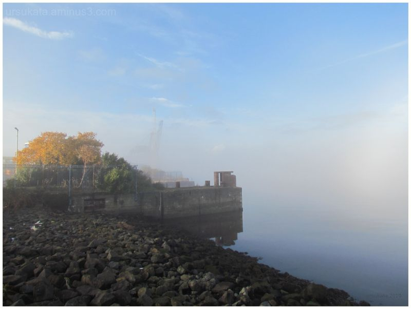 mist on the clyde