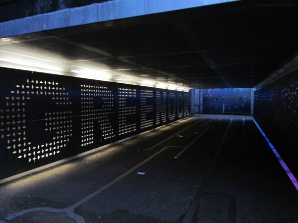 Greenock underpass