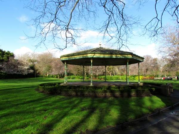 Bandstand in the St Stephen's Green Park