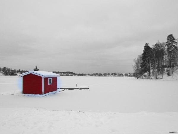 Winter morning in Ed