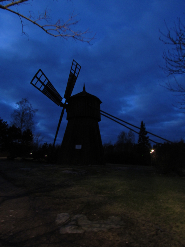 Old mill on a hill 2