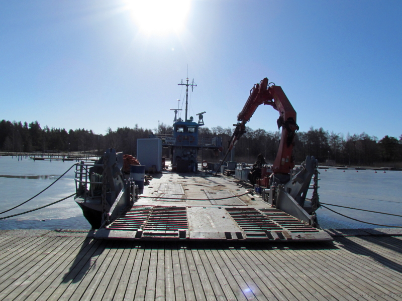 Transport ferry