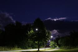 uusikaupunki by night