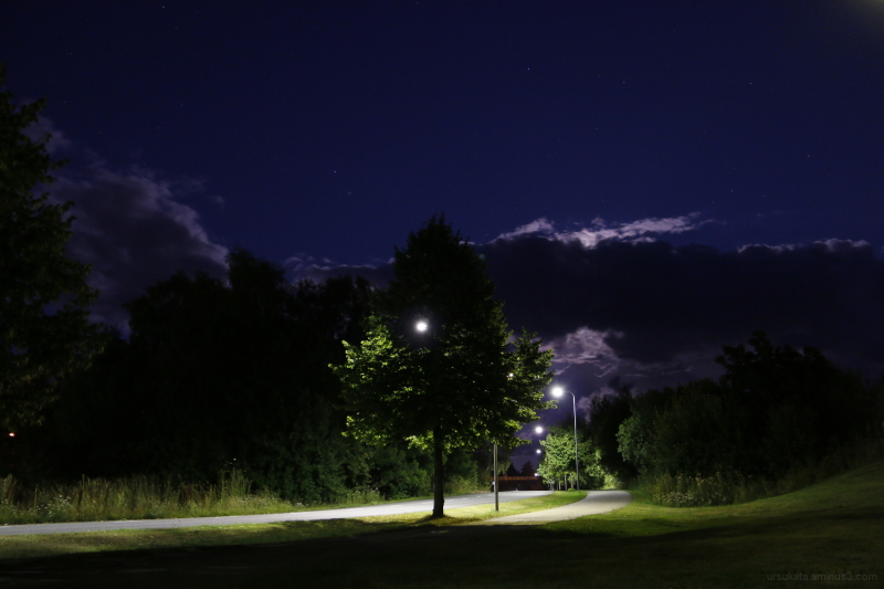 uusikaupunki by night