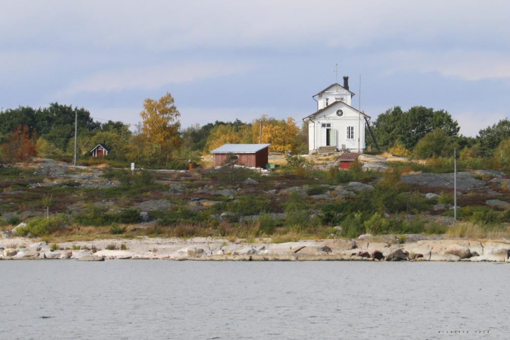 White little house
