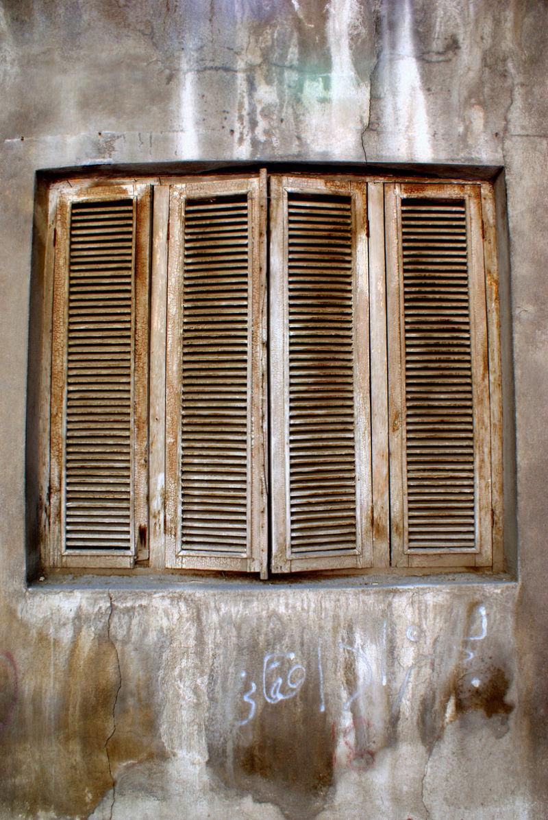 The memories of a forgotten window