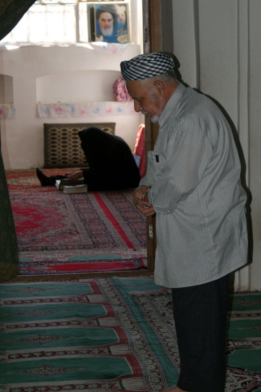 Prayers in Bastam