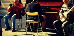 Musicians in Barcelona