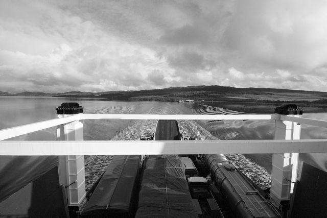 MV Hebridean Isles leaving Kennacraig