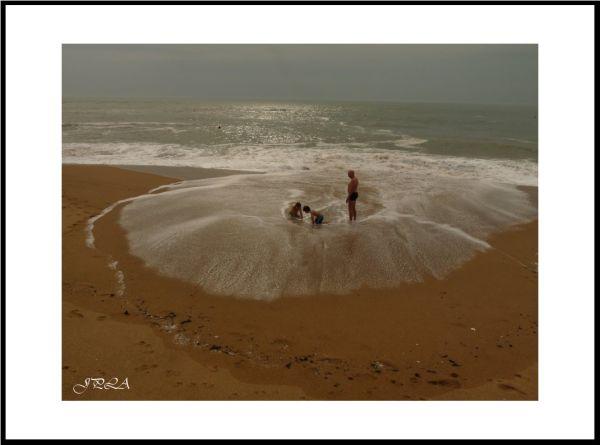 Hier, à Batz sur mer