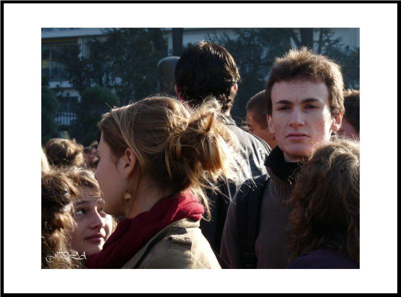 Manifestation à Angers