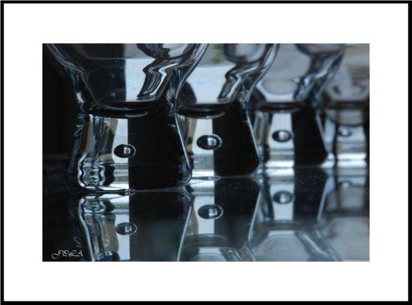 Sur une table