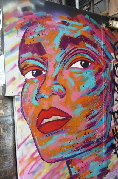 street art à Londres #171007