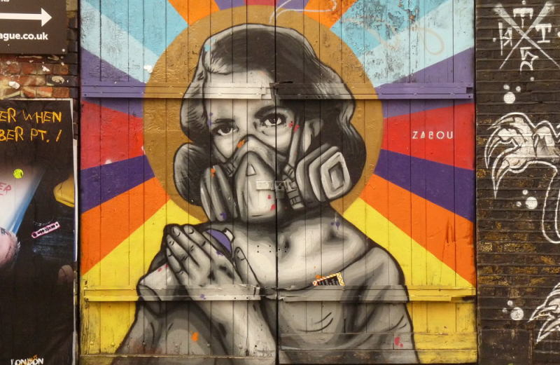street art à Londres #171011