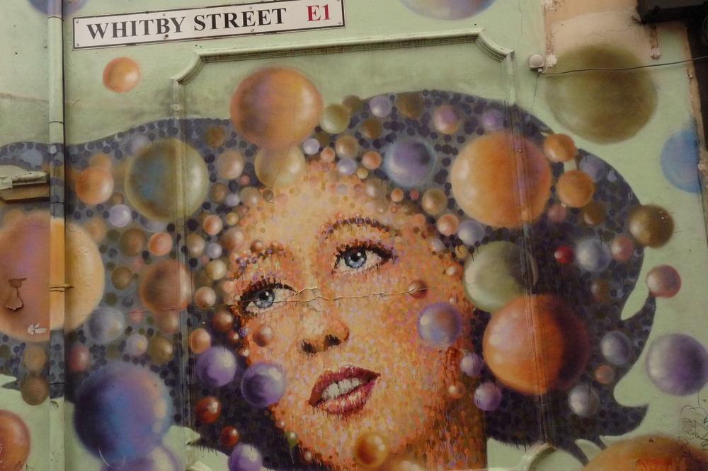 street art à Londres #171012