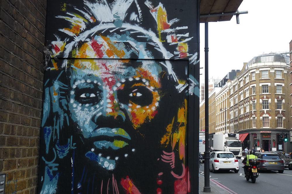 street art à Londres #171016
