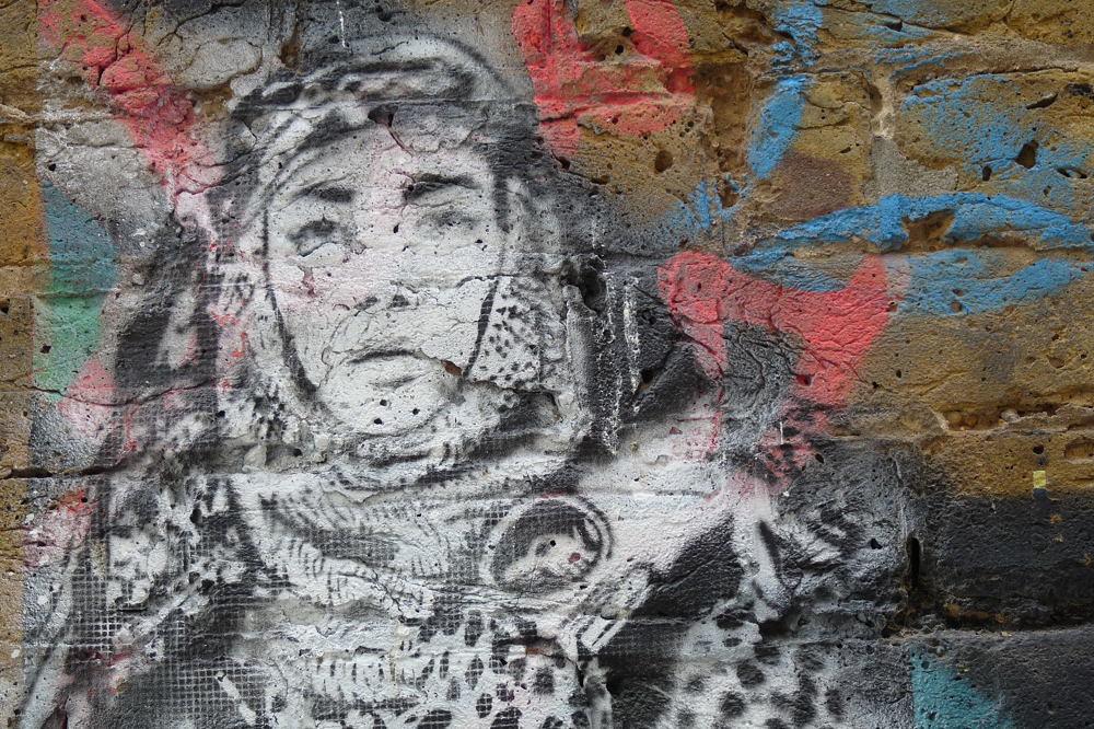 street art à Londres #171017