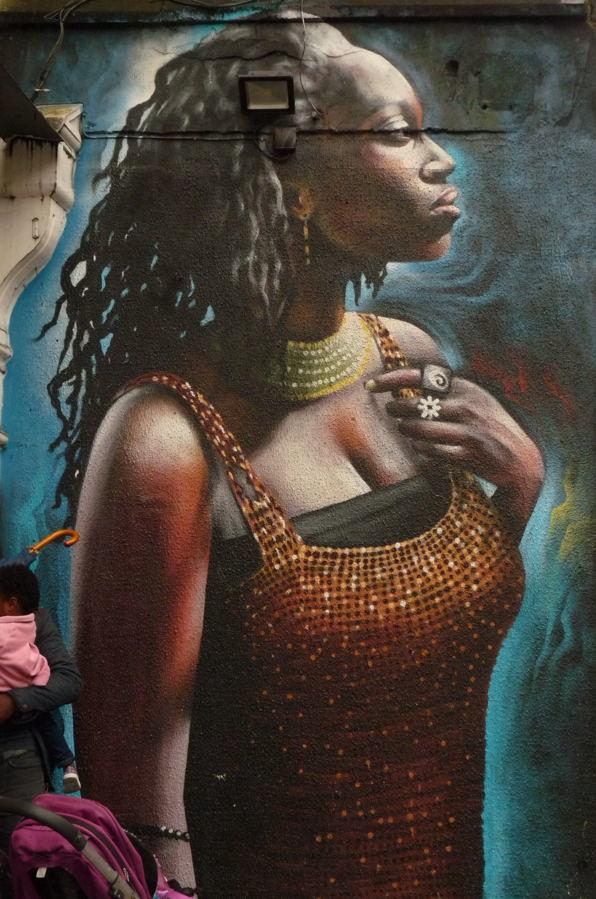 street art à Londres #171018