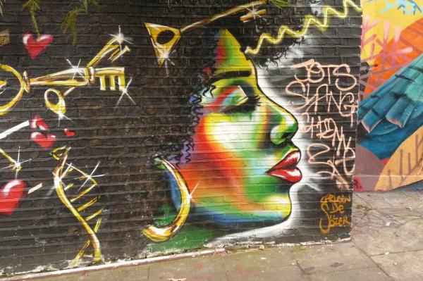 street art à Londres #171019