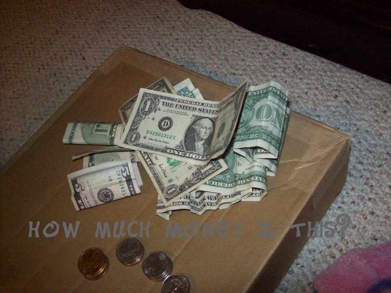I'm rich!