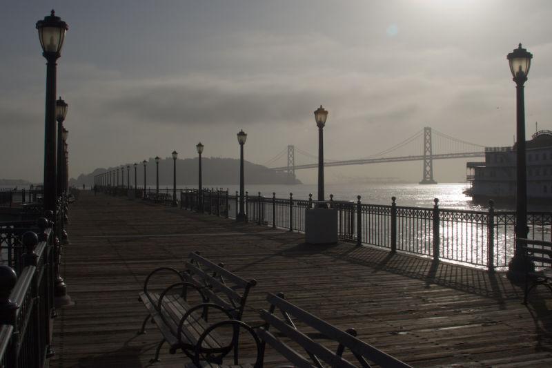 Embarcadero Pier at sunrise