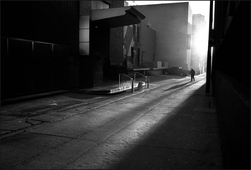 Dawn breaks in Hollywood