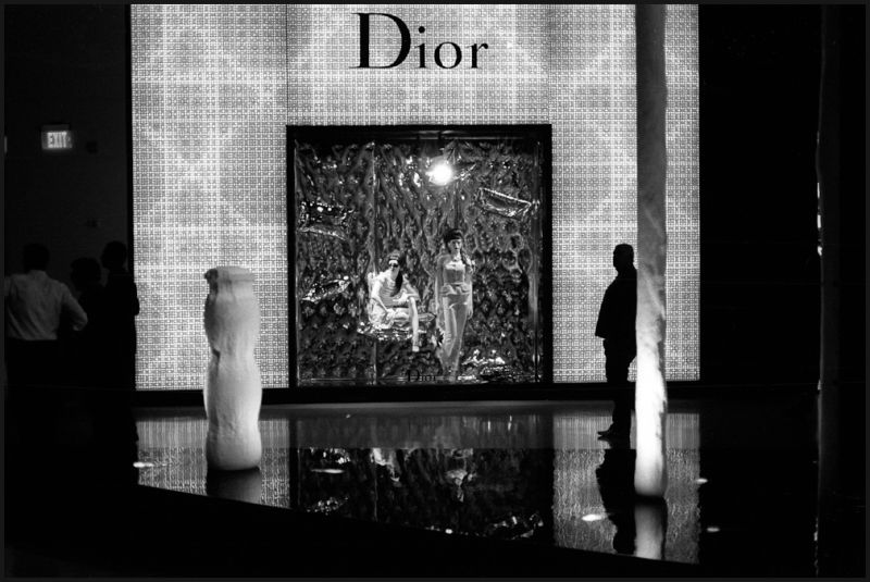 Dior store in City Center