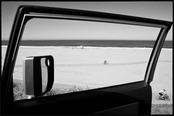 A beach view from Vista Del Mar