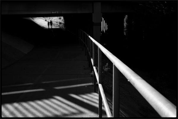 The underpass in Reseda