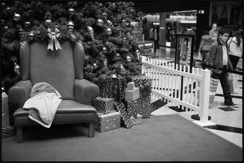 Santa has left the building