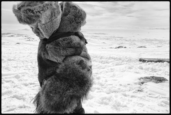 Walking home at 40 below zero.