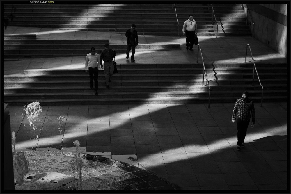 late shadows on Grand Avenue