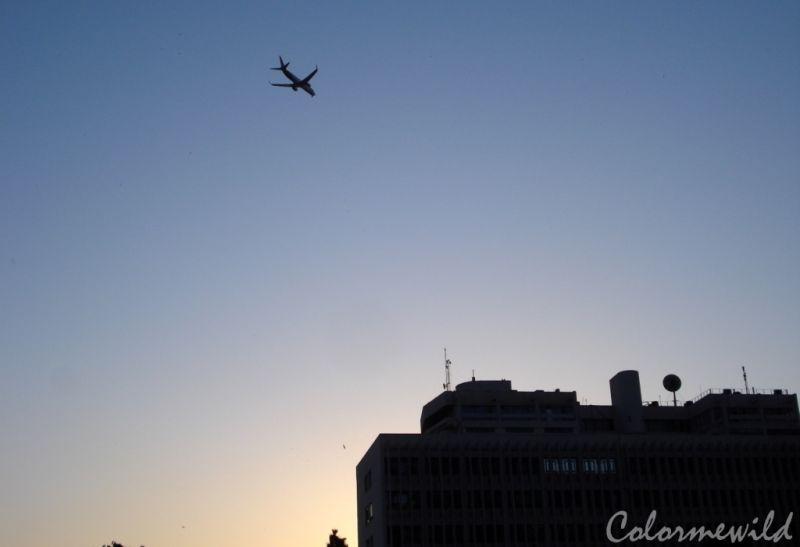 a plane crash?? Nah :)