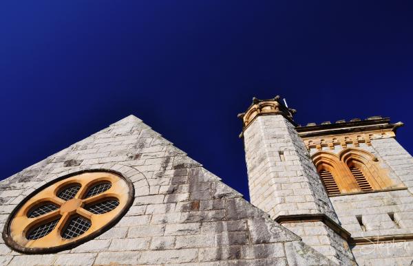 Exterior view of All Saints church Bodalla