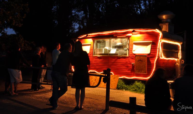 The Brodburger café