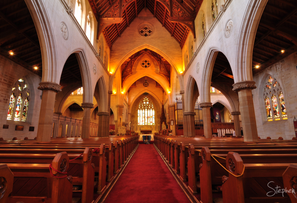 Interior of St Saviour's Cathedral in Goulburn