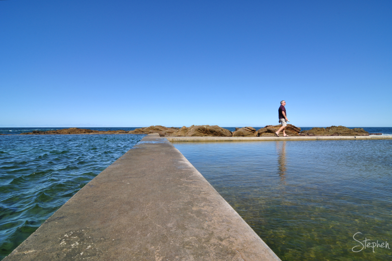 The Blue Pool at Bermagui